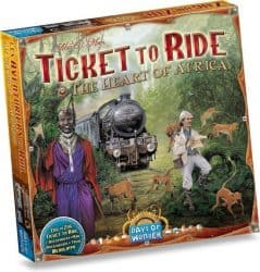 Ticket To Ride - Afrika Bordspel Uitbreiding
