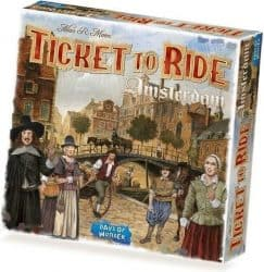 Ticket To Ride - Amsterdam Bordspel