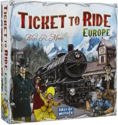Ticket To Ride - Europe Bordspel