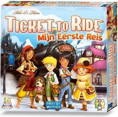 Ticket To Ride - Mijn Eerste Reis Bordspel