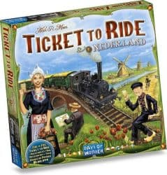 Ticket To Ride - Nederland Bordspel Uitbreiding