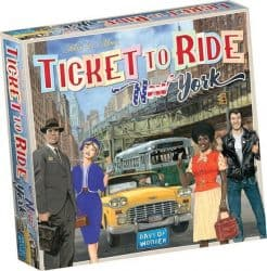 Ticket To Ride - New York Bordspel