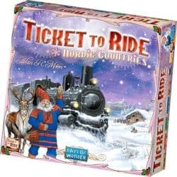Ticket To Ride - Nordic Countries Bordspel