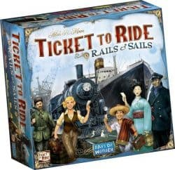 Ticket To Ride - Rails & Sails Bordspel