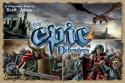 Tiny Epic Defenders spel doos box Spellenbunker.nl