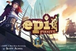 Tiny Epic Pirates spel doos box Spellenbunker.nl