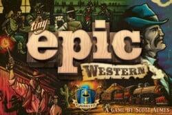 Tiny Epic Western spel doos box Spellenbunker.nl