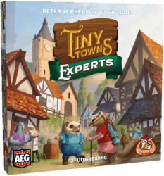 Tiny Towns Experts Bordspel Uitbreiding White Goblin Games