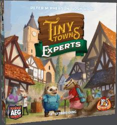 Tiny Towns Experts Bordspel Uitbreiding White Goblin Games