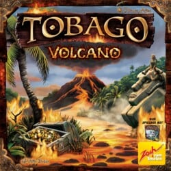 Tobago: Volcano spel doos box Spellenbunker.nl