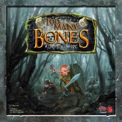 Too Many Bones spel doos box Spellenbunker.nl