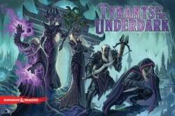 Tyrants of the Underdark spel doos box Spellenbunker.nl