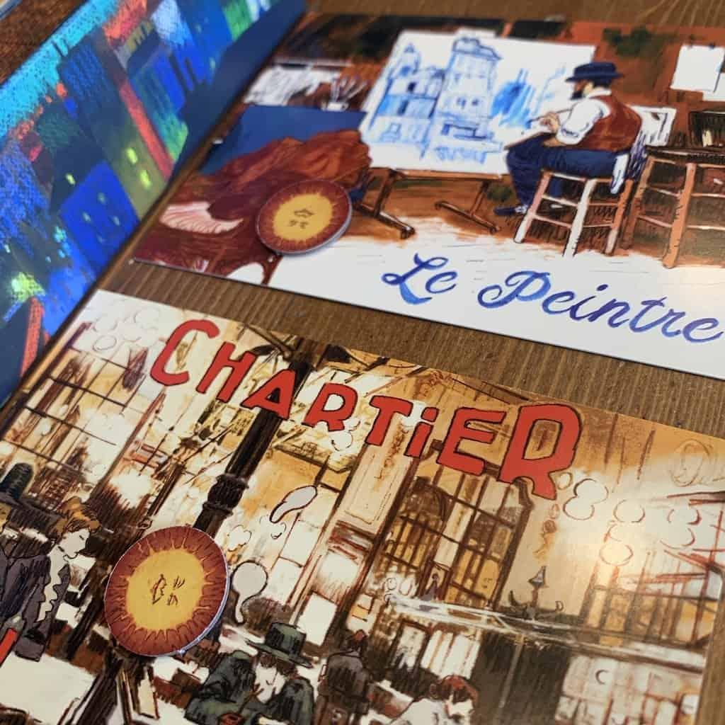 Parijs de Lichtstad Bordspel 999 Games 2 persoonsspel Spellenbunker