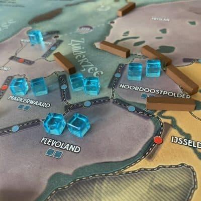 Pandemic Rising Tide Z-Man Asmodee Cooperatief Bordspel Nederland Spellenbunker
