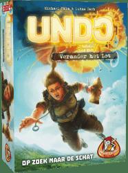 UNDO - Op Zoek naar de Schat White Goblin Games Kaartspel