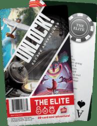 Unlock!: Escape Adventures – The Elite spel doos box Spellenbunker.nl
