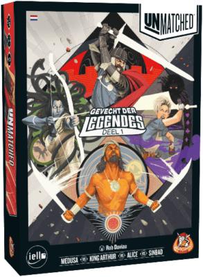 Unmatched- Gevecht Der Legendes Deel 1 White Goblin Games