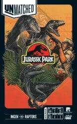 Unmatched: Jurassic Park – InGen vs Raptors spel doos box Spellenbunker.nl
