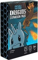 Unstable Unicorns - Dragons Expansion Pack Kaartspel Uitbreiding
