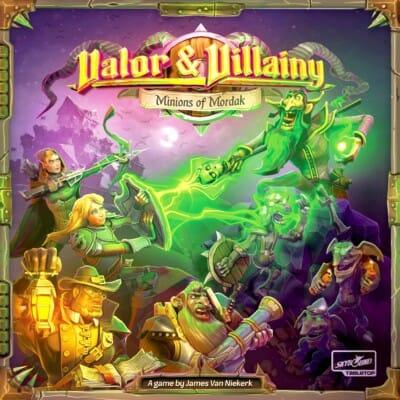 Valor & Villainy: Minions of Mordak spel doos box Spellenbunker.nl