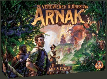 Verdwenen ruïnes van Arnak Bordspel White Goblin Games