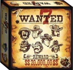 Wanted 7 BOrdspel Intrafin GDM Games