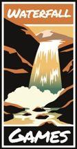 Waterfall Games Logo Uitgever Bordspellen