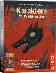 Weerwolven van Wakkerdam, De - De Karakters in Wakkerdam Kaartspel Uitbreiding