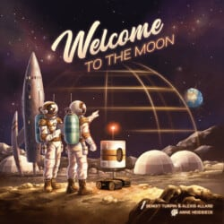 Welcome to the Moon spel doos box Spellenbunker.nl