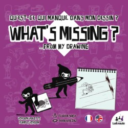 What's Missing: Purple Version spel doos box Spellenbunker.nl