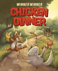 Winner Winner Chicken Dinner spel doos box Spellenbunker.nl
