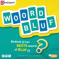 Woord Bluf spel doos box Spellenbunker.nl