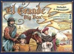 Foto Bordspel El Grande Big Box