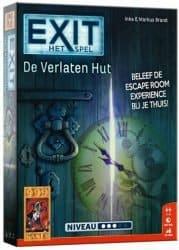 Foto kaartspel/Escape Room Exit het Spel - De Verlaten Hut