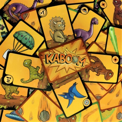 Kaboom Universe / Skellig / Mat / kaartspel